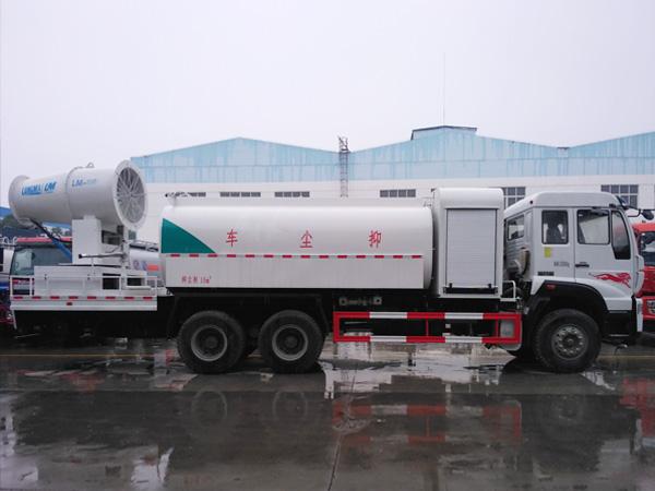 国五重汽后双桥 CLW5250TDYZ5型多功能抑尘车