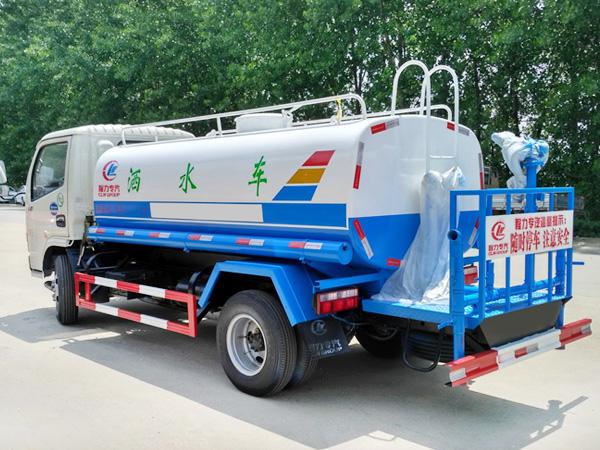 5方绿化喷洒水车 程力威牌CLW5070GSSD5型洒水车
